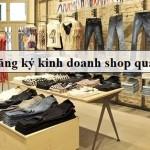 xin giấy phép kinh doanh shop quần áo tại bình dương